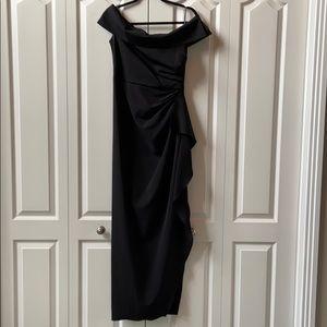Formal Dress/  Gown off-the-shoulder